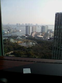 CONRAD TOKYO 滞在。